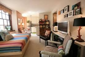 Studio Apartment Design White Cotton Bed Cover Hig Headboard - Efficiency apartment designs