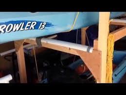 diy kayak rack for short bed truck rum and coke helps youtube