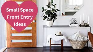 small space front entry ideas youtube idolza