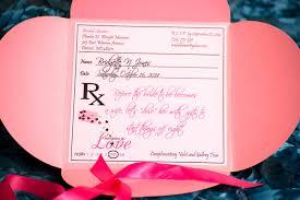 creative bridesmaid invitations prescription for bridal shower lavish events and prints by