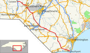 North Carolina Map Of Cities And Towns North Carolina Highway 211 Wikipedia