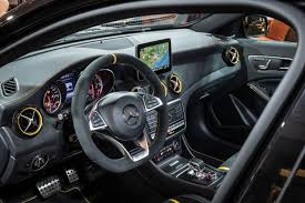 mercedes benz jeep matte black interior revised styling and specification for 2018 mercedes benz gla range
