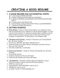 Good Job Titles For Resumes by Example Of A Good Job Resume Bongdaao Com