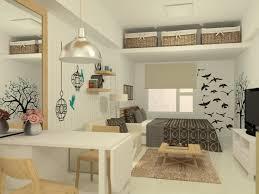 studio apartment interior design with decorating ideas