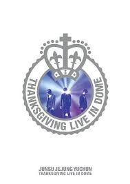 cdjapan thanksgiving live in dome junsu jejung yuchun jyj dvd