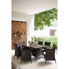 Homebase Chairs Dining Panama 6 Seater Garden Furniture Set At Homebase Be Inspired