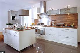 credence cuisine blanche cuisine blanc et bois laque blanche charming 7 laquey mo la