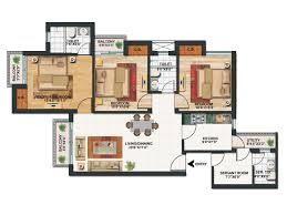 High Rise Floor Plans by Paras Tierea High Rise Noida