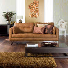 light brown leather sofa tan leather sofas contemporary furniture from dwell