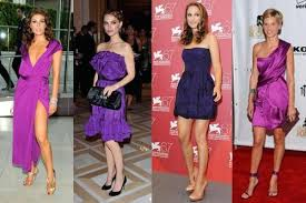 what to wear with a purple dress onehowto