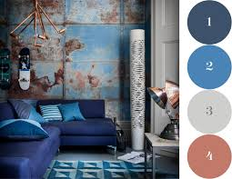 Victorian Bedroom Wall Covering Fall Palette Blue Colors Pinterest Victorian House