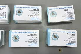 Marine Business Cards Home
