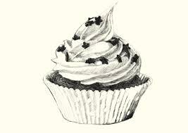 cupcake pencil drawing google search still life ideas