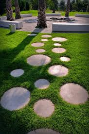 landscape stepping stones walkway practical combination of and