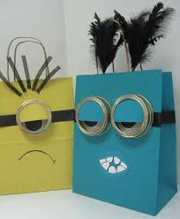 minion gift bags minion gift bag by yvonne edmonton store creative packaging