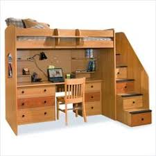 Kids Loft Bed With Storage Loft Bed With Dresser U0026 Seating Area How Awesome Would This B