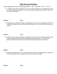 printables ideal gas law worksheet answers ronleyba worksheets