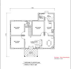 bedroom ground floor plan unusual house square feet single low