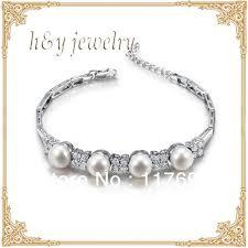 pearl silver bracelet images Sinya freshwater pearl silver bracelet for women pearl dia 8 8 5mm jpg
