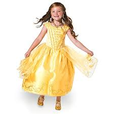 amazon com disney belle costume for kids beauty and the beast