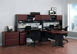 Computer Desk Inspiration Two Person Office Desk U2013 Adammayfield Co