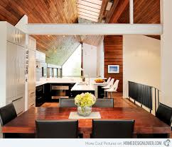 Modern House Dining Room - the queen anne mid modern house in seattle washington home