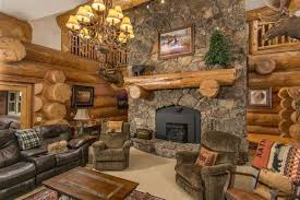 luxury log home interiors no splinters here these 5 luxury log cabins are a must see