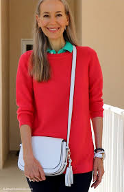 preppy for women over 50 video classic fashion over 40 casual preppy how i styled navy