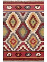 Handmade Wool Rug Buy Ikat Rugs Online At Discount Offer Price Abc Decorative Rugs