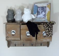 interior stunning shabby chic shelves with hooks with double