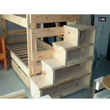 Loft Bunk Bed With Stairs Custom Made Stairs For Loft Of Bunk Bed Solid Wood Custom Made