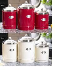 stainless steel kitchen canisters sets 79 99 a popular item at gourmet and kitchen specialty stores this