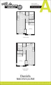 floor plans u2013 firsthome erin mills u2013 daniels gateway