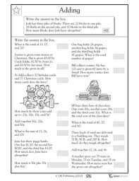 word problem worksheets 2nd grade free worksheets library