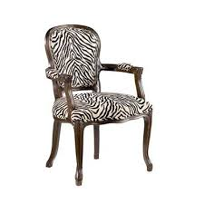Zebra Accent Chair Treasures Zebra Print Accent Chair Accent Chairs Living