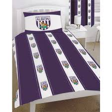 Duvet Club Bromwich Albion Football Club Double Quilt Duvet Cover Bedding Set