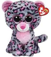 amazon ty beanie boos glamour leopard plush pink toys u0026 games