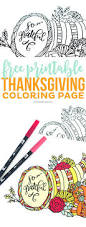 coloring pages thanksgiving free printable coloring pages print
