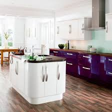 Kitchen Design B Q B Q Cooke Lewis With Aubergine Rather Stylish Kitchen