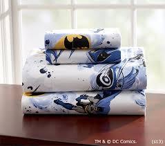 Batman Toddler Bed Batman Sheet Set Pottery Barn Kids