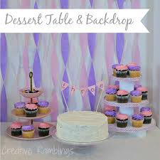 dessert table backdrop birthday dessert table with backdrop creative ramblings