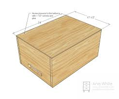 Wooden Toy Box Design by Wood Work