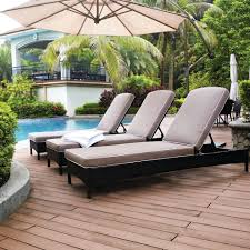Lounge Chair Outside Design Ideas Exterior Beautiful Pati Design Ideas With 3 Chaise Lounge Outdoor