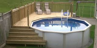 Modern Budget Deck How To Select Above Ground Pool Decks Blogbeen