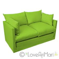 Lime Green Sofa by Fold Out 2 Seater Kids Teens Sofa Sofabed Guest Bed Futon