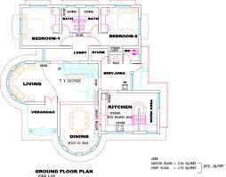 kerala villa plan elevation home design floor plans building