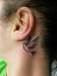 cover tattoo behind your ear 46 pretty behind the ear tattoos that will please you