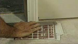 how to cut door jambs when laying a tile floor today s homeowner
