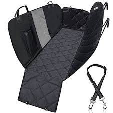 kqrns dog seat cover for back seat pet car seat cover dog hammock