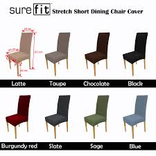 sure fit dining chair covers sofa u0026 couch covers slipcovers